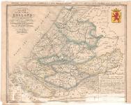 B19-36 Kaart van de Provincie Holland zuidelijk gedeelte , 1840
