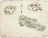 B19-38 Kaart van het eiland Goedereede, mitsgaders de opkomende gronden van Over-Flakkee, Zoo als dezelve zich meest ...