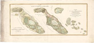B19-45 Kaart van het Eiland Goedereede en Overflakkee (in een hoes met B19-44), 1842