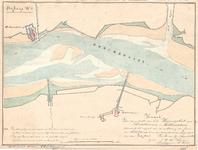 C19-11 Kaart van een gedeelte van het Haringvliet voor Middelharnis en Hellevoetsluis. , 1852