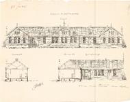 D19-12 Scholen te Middelharnis (in 2 bladen), 1884