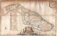 A19-30 Kaarte van 't Eiland Overflacque en Goedereede (zie D18-41,42,43 en A19-10), 1811