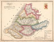 A19-33 Kaart van Zuid-Holland, Volgens de nieuwste en naauwkeurigste Stukken , c. 1830