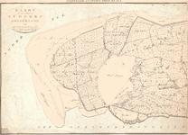 B19-17 Kaart van de gemeenten Ouddorp en Goedereede (blad I), 1835