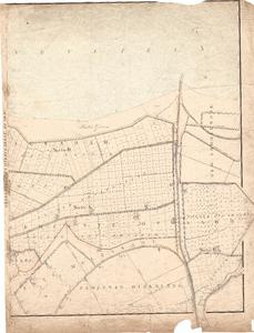 B19-20 Kaart van de gemeenten Stellendam, Onwaard en Roxenisse (blad IV), 1835
