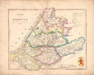 B19-41 Kaart van Zuid-Holland volgens de nieuwste en nauwkeurigste Stukken (in hoes bij B19-42), 1841