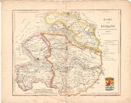 B19-42 Kaart van Zeeland volgens de nieuwste en nauwkeurigste Stukken (in hoes bij B19-41), 1841
