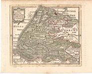 B19-56 Nieuwe Kaart van Zuid Holland , ca. 1849
