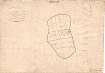 B19-61 Kaart van de Gemeente van Dirksland. gelegen in de Provincie Zuid-Holland , 1825