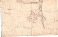 B19-62 Gemeente Dirksland in 3 Sectien , ca. 1825