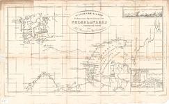 B19-66 Wassende kaart Behoorende bij de Reizen der Nederlanders in de Noordelijke IJszee , ca. 1825