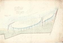 C19-31 Kaart van de buitengronden bewesten de haven van Middelharnis… , 1859