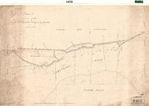 C19-80 Kaart van een gedeelte van den Oudelandschen Zeedijk op Goedereede ( 2 ), ca. 1874