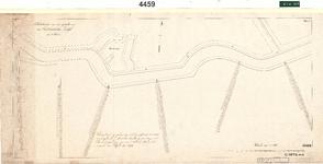 C19-83 Schetskaart van een gedeelte van den Oudelandschen Zeedijk in 4 bladen (blad1), ca. 1874