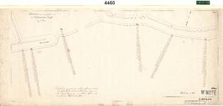 C19-84 Schetskaart van een gedeelte van den Oudelandschen Zeedijk in 4 bladen (blad2), ca. 1874