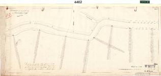 C19-85 Schetskaart van een gedeelte van den Oudelandschen Zeedijk in 4 bladen (blad3), ca. 1874