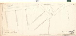 C19-86 Schetskaart van een gedeelte van den Oudelandschen Zeedijk in 4 bladen (blad4), ca. 1874