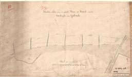 C19-91 Situatie-schets van een gedeelte Duin en Strand aan de Noordzijde van Goedereede. , 1874