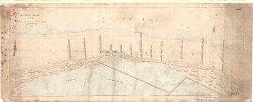 C19-93 Situatie Kaart van het Flaauwe Werk , 1868