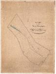 D19-20 Kaart der Polder St Elisabeth gelegen onder de Gemeentens Herkingen en Melissant volgens het kadaster , ca. 1890