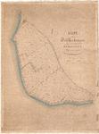 D19-21 Kaart der Polder Oud Herkingen gelegen onder de Gemeente Herkingen volgens het kadaster , ca. 1890
