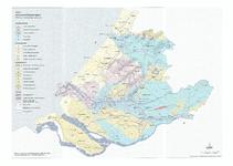 21-19 a/b Kaart 1 Waterhuishoudkundige systemen , Kaart 2 Indeling deelgebieden en regio's Profiel A-B, behorende bij ...