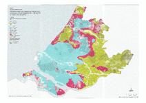 21-19 i/j Kaart 9 Indicatieve kaart voor ligging van zoet en zout grondwater in Zuid-Holland, 1e watervoerende pakket ...