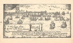J16-02 Geen titel (rede van Goedereede) (3x) (Schepen op de rede van Goedereede), 1971 origineel ca.1570