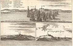 J17-08 Cabo Verde ofte 't Eijlant Goeree 2x (in een hoes met C18-02) (zie B18-08 + 09 + 10), 1668