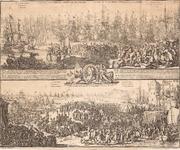 J17-11 1. Vertrek van S.K.H. na Engeland, den 11. Nov. 1688. 2. Aenkomst van S.K.H.D.P. van Orangie in Engeland, den ...