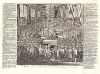 J18-03 Afbeelding van het vermaarde Synode van Dordrecht in het jaar 1618. en 1619. , 1730