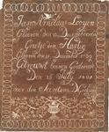 J19-02 Geen titel (huwelijksoorkonde), 1801