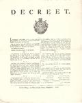 J19-08 Decreet , 1802