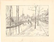 J20-39 Sommelsdijk Kerkgracht, 1947