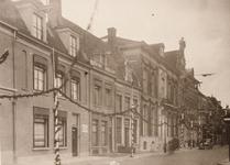 21594 Deventer - 1937 - 7 januariStraatversiering t.g.v. het huwelijk van Prins Bernhard. Stromarkt.