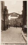 21600 Deventer - 1937 - 7 januariVersierde stad t.g.v. het huwelijk van Prinses Juliana en Prins Bernhard. Golstraat, ...