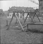 4840 Deventer - Persfotograaf D.W. Nijland: Hoornwerk - Speeltuin tussen de Snipperlingsdijk en de Verlengde Kazernestraat.