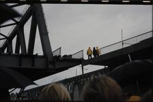 3535 Deventer - SpoorbrugInvaren en plaatsen van de nieuwe spoorbrug naast de Catherine Millerbrug.