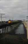 3546 Deventer - SpoorbrugGezicht vanaf de nieuwe spoorbrug.