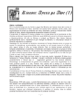 Rincon: Ayera pa awe / Bòi Antoin, 2018