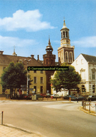 F005673 Oude en Nieuwe Raadhuis en de Nieuwe Toren met omgeving.