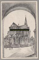 F001749 De Bovenkerk (ook wel St. Nicolaaskerk) is een grote, gotische kruisbasiliek. De kerk heeft een kerktoren en ...