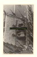 F001359-1 Restauratie werkzaamheden aan het dak van het Oude Raadhuis, o.a. het aanbrengen van een betonkap boven de ...