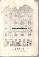 F000882 Afbeelding van de machinale sigarenfabriek de Beurs van C.J. Boele & Zoon in de Hofstraat, wijk 2 no. 315. Aan ...