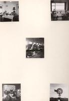 F001088 Viet foto's van koestal, interieur schuur, keuken en huiskamer van boerderijen op het Kampereiland van de ...