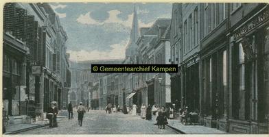 F001218 Oudestraat, gezien richting Bovenkerk.