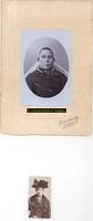 F004603 Dubbel portret van Teunisje van de Wetering, getrouwd met Jan van Schellen sr..
