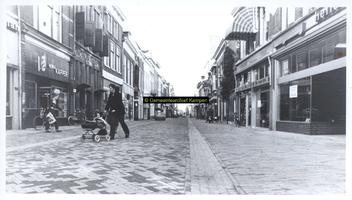 F005720 De Oudestraat nadat het een promenade is geworden.