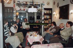 F005128 Van links naar rechts: 1. Corry Haze (geb. 1968), 2. Dicky Haze (geb. 1962), 3. Kees Schilder (geb. 1937), 4. ...