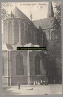 F001747 De Bovenkerk (ook wel St. Nicolaaskerk) is een grote, gotische kruisbasiliek. De kerk heeft een kerktoren en ...